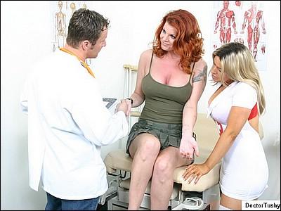 doctor and nurse medical exam videos